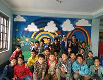 NGF Transit Home Mural