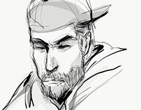 Adobe Draw portraits