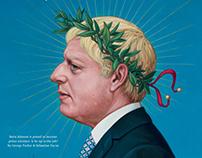 Boris johnson for Financial Times Weekend magazine