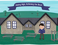 Black Lane School Illustration + Web Design