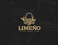 Graphic mark | Limeño barber shop | marca gráfica