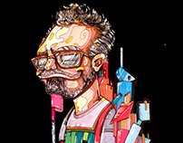 Retrato de Miquel Navarro