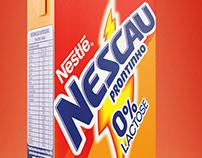 Nestlé Nescau Mockup