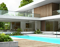 Residence with a pool