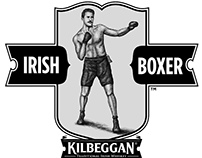 Kilbeggan: Irish Boxer Illustration by Steven Noble