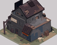 Isometric Game Art Concept
