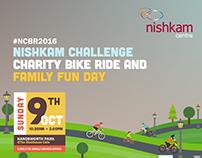 Nishkam Challenge Bike Ride 2016 Poster Design