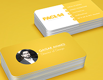 Business Card for Face44