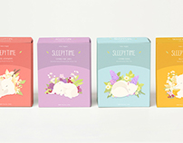 Sleeping Tea Packaging