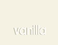 Vanilla typeface