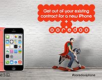 Ooredoo iPhone 5 - Digital Concepts (8 animations)