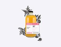 SHEHOS Juice Branding