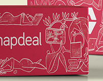 Snapdeal Delivery Boxes