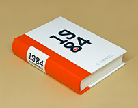 Book design: G.Orwell - 1984