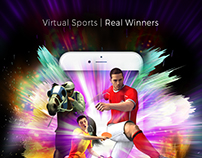 Magazine Ad Promoting Mobile Virtual Sports