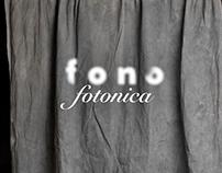 Fonofotonica Painted Backdrops: Brand Identity