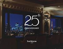 25th Anniversary Logo | Westin Tokyo