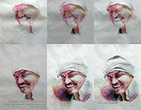Water Color Portrait Painting (Sunil ji) - by Artist Ka