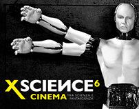 Grafica per la manifestazione XScience