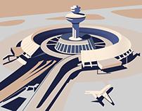Zvartnots airport, Armenia | Soviet Modernism