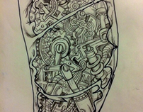 biomeca tattoo design