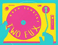 Adam Lambert - Two Fux Lyric Video