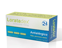 Loratadex medicine design
