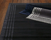 luxurious silk wool rug