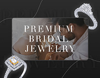 Website design for premium bridal jewelry company