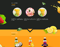 fruity juices website