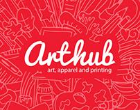 Art Hub Bahrain | Branding