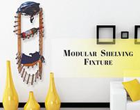 Modular Shelving - Bamboo Fixture