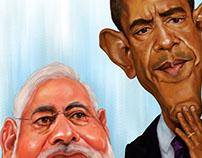 Obama & Modi