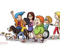 """Children Book: """"Los 6 amigos"""""""