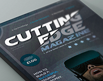 Cutting Edge Technology - Magazine Concept
