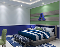 Home Residential Project - boy bedroom