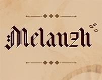 """Font """"Melanzh"""""""