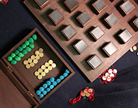Bisecto - an abstract strategy game