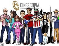 Meet the Cast of Cinescopia