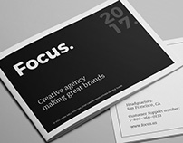 Focus - Agency Portfolio Brochure
