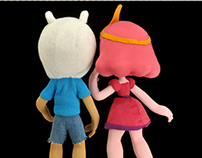 Finn the Human and Princess Bubblegum