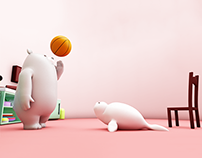We Bare Bear - 3D Animation (Final Semester Project)