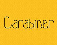 Carabiner Font