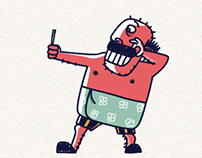 'SHASHI ETTAN' Malayalam animated stickers for WeChat