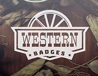 Western Badges
