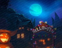 """Online slot machine for SALE - """"Lucky Halloween"""""""