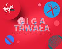 GIGA TRWAŁA TV spot dla Virgin Mobile