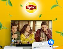 Lipton-Shazam App Projesi