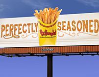 Bojangles' 2014 Billboard Campaign