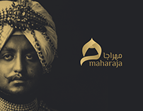 Maharaja logo l شعار مهراجا